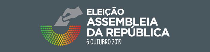 Ir para página Eleição para a Assembleia da República 2019
