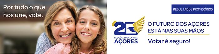 ir para Escrutínio Provisório da Eleição para a Assembleia Legislativa da Região Autónoma dos Açores 2020