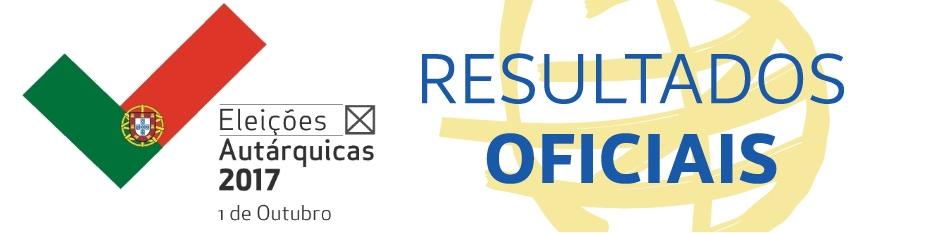 Resultados Ofíciais das Eleições Autárquicas 2017