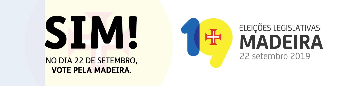 Ir para página Eleição para a Assembleia Legislativa da Região Autónoma da Madeira 2019