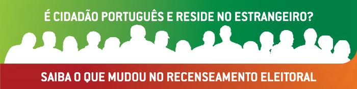 Ir para Recenseamento Eleitoral dos Cidadãos Portugueses Residentes no Estrangeiro