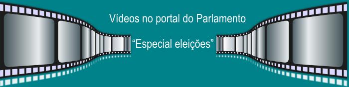 """Ir para Página """"Especial eleições"""" no portal de internet do Parlamento"""