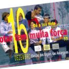 Cartaz - Eleição das Autarquias Locais - AL/2001