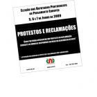 Cartaz - Modelos de Protestos e Reclamações - PE/2009 - estrangeiro