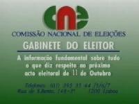 Gabinete do Eleitor - Eleições Regionais